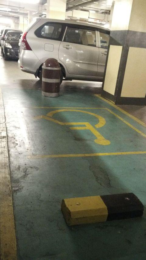 parkir khusus difabel